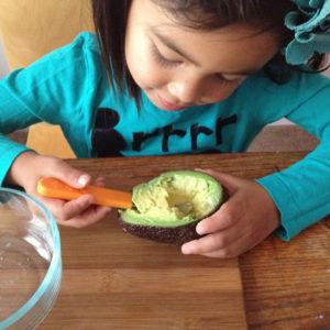 Abacate na alimentação infantil