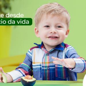 Tem abacate? Tem, sim senhor! Fruto nutritivo ajuda a promover infância saudável